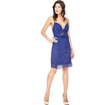 GUESS koronkowa sukienka 100% oryginał r.36 outlet