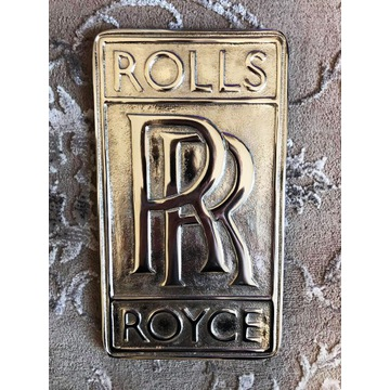 Blacha Rolls Royce