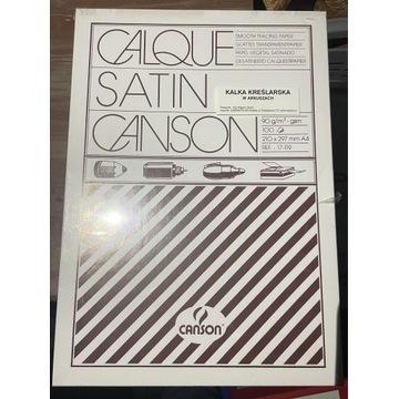 Kalka kreślarska CANSON A4 90g pudełko 100 arkuszy