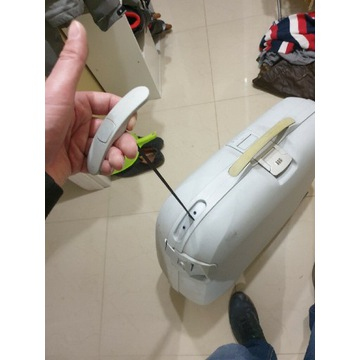 Duza walizka samsonite
