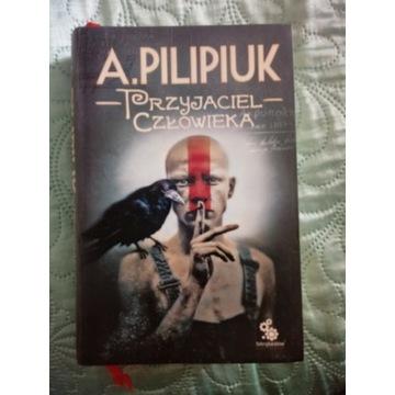 """A. Pilipiuk """"Przyjaciel człowieka""""."""