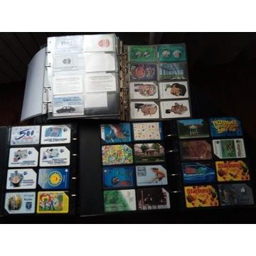 Kart telefoniczne magnetyczne i chip 1992-2007