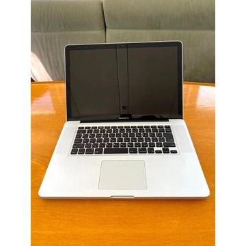 MacBook Pro 15 2010 i7 2,66 GHz 500 HDD 4 GB RAM