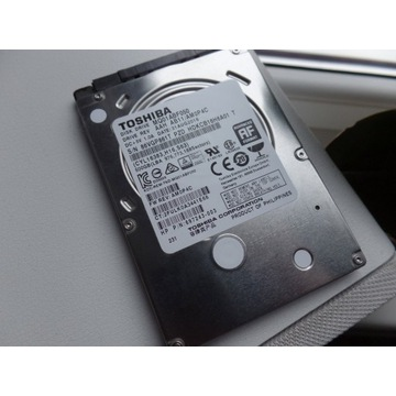 Dysk twardy 500 GB Toshiba 2,5 cala do laptopa