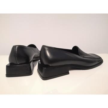 Buty mokasyny damskie skórzane Ryłko