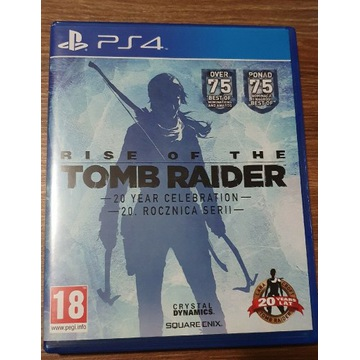 Gra ps4 Rise of the Tomb Raider PL idealny stan