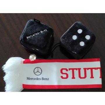 Pluszowe Kostki i Szalik kolekcja Mercedes-Benz