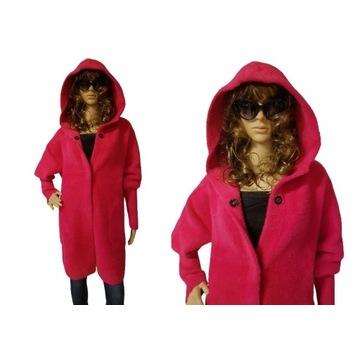 Płaszcz ALPAKA z kapturem, różne kolory, uniwersal