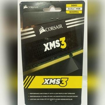 Pamięć ram DDR3 2x2GB 4GB CORSAIR XMS3