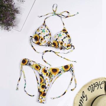 Seksowne Bikini Kolorowe r.S