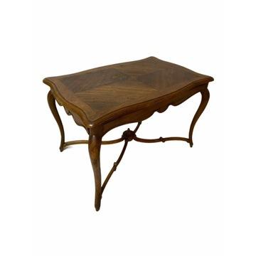 Piękny stolik z szufladą Rocaille Ludwik XV 1870r.