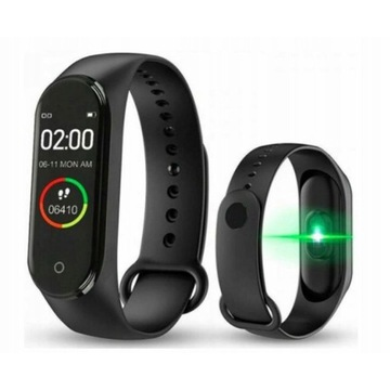 Opaska sportowa zegarek dla aktywnych