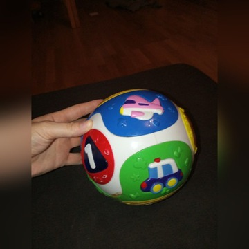 Kula i inne zabawki interaktywne