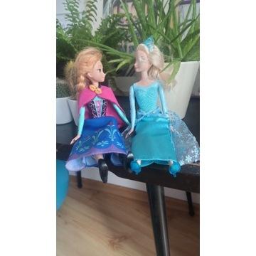 Anna i Elsa Kraina Lodu/Frozen. Mattel. Oryginał