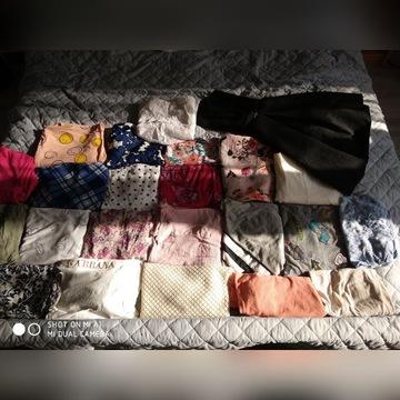 Paczka 22 koszulki/bluzki +sukienka
