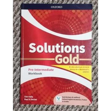 Solutions Gold Pre-Intermediate Workbook