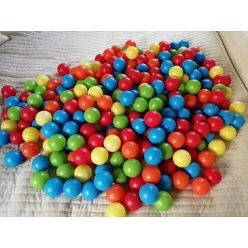 Kolorowe piłki 7 cm do basenu (298 szt).