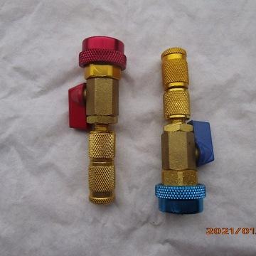 Klucze do wymiany zaworka w instalacj gazowej