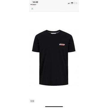 Iceberg logo t-shirt czarny męski M outlet