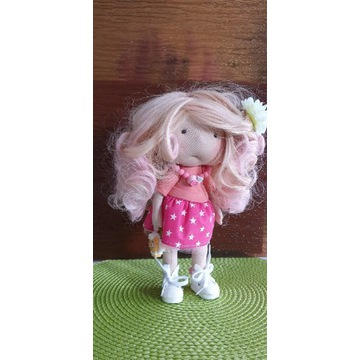 Lalka  ręcznie robiona - handmade