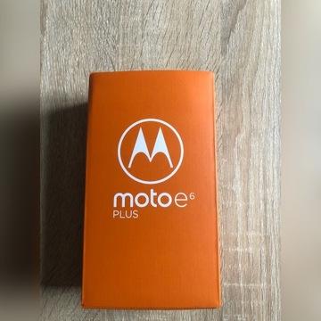Motorola Moto e6 plus 4+64GB nowy