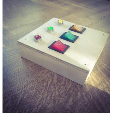 Światełka do tablicy manipulacyjnej.3 kolory diody