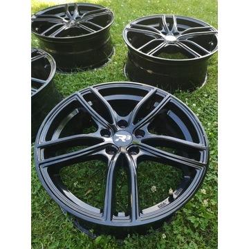 Felgi 18 cal R3 Wheels Czarne 8.0Jx18'' ET45 5x112