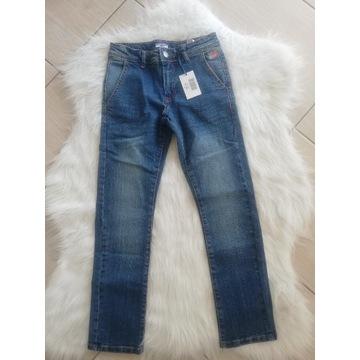 Nowe spodnie jeansy Cotton Belt 8, 9 lat
