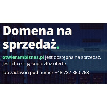 Domena otwierambiznes.pl
