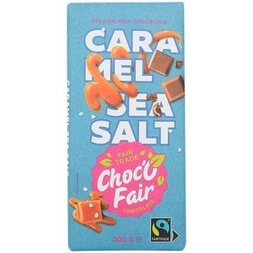 Czekolada Choc-O-Fair Mleko, karmel i sól morska 2