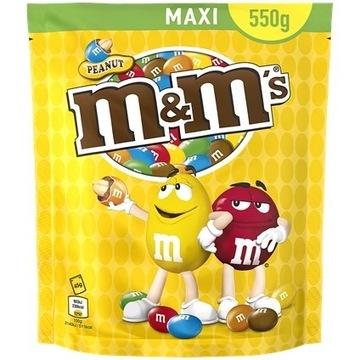 M&M's Orzeszki ziemne 550 gramów