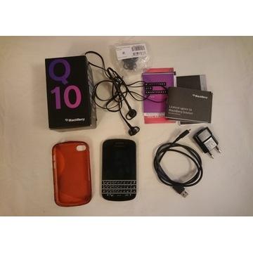 telefon Blackberry Q10 +box akcesoria etui papiery