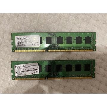 8GB RAM DDR3 1333MHz dwa moduły Exceleram