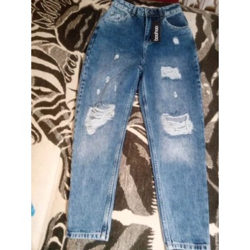 BooHoo spodnie jeans 36