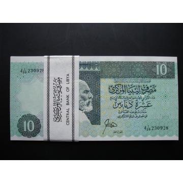Banknot 10 Dinarów Libia