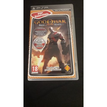 GOD OF WAR GHOST OF SPARTA DUCH SPARTY PSP