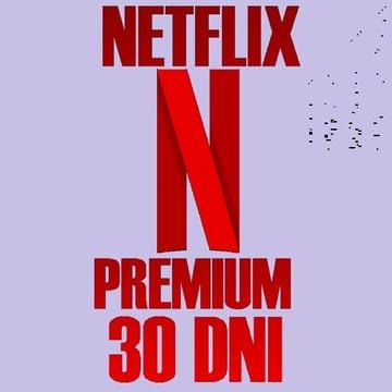 NETFLlX PREMIUM 30 DNI | POLSKIE KONTO | GWARANCJA