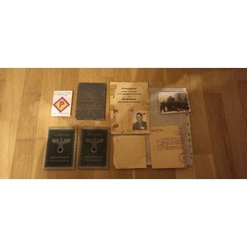 Zbiór dokumentów pracownik przymusowy Stalag IX
