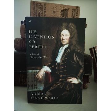 Książka His invention so fertile,  Tinniswood