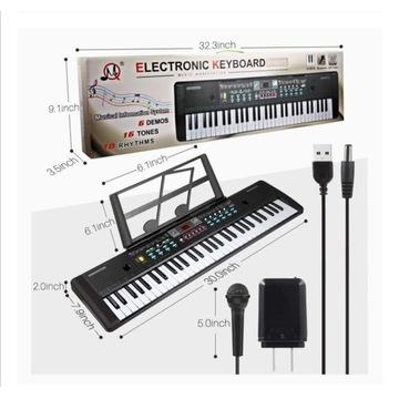 Instrument keyboard electronica 61klawiszy OSTATNI