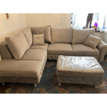 Wypoczynek sofa kanapa 3 osobowa ekskluzywna rozkł