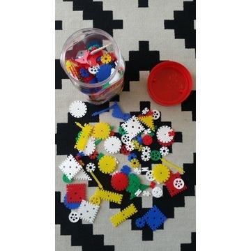 Stecki Geo Klocki Konstrukcyjne Zabawka 3+