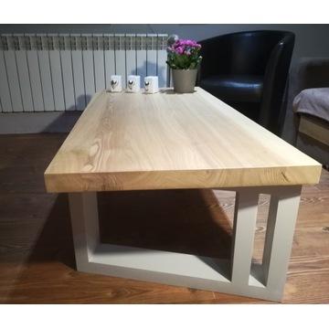 Stolik kawowy drewno JESION nowy