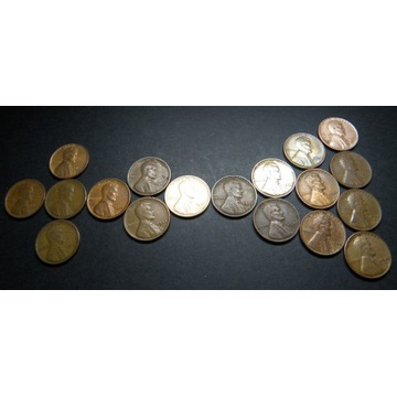 1 CENT USA Lincoln Cent 1917 -1940