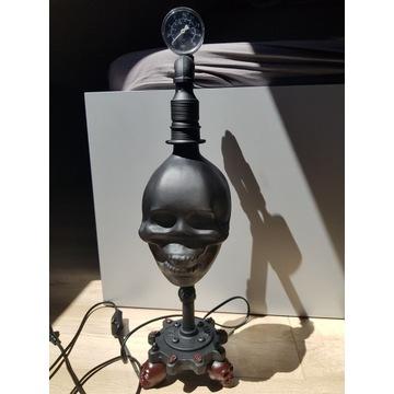 Lampa Skull Industral wykonana własnoręcznie