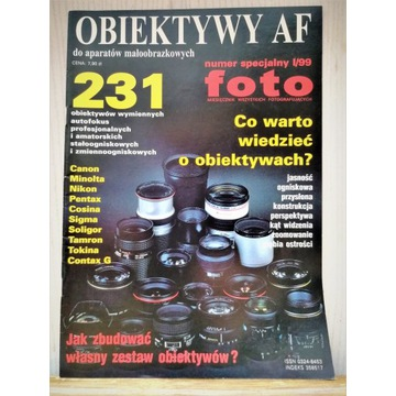nr specjalny FOFO I/99r. OBIEKTYWY AF st. bdb+