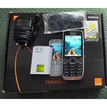 Nokia E52 Czarny Made in Finland