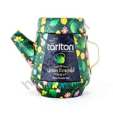Herbata zielona Tarlton Green Emerald 100g
