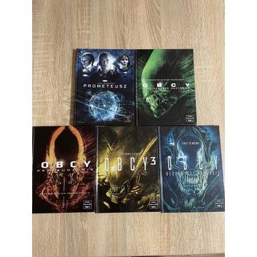 Kolekcja DVD Obcy + Prometeusz