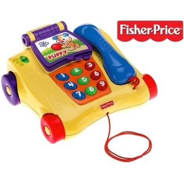 Interaktywny TELEFON Fisher Price język polski